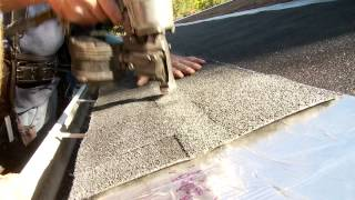 ice dam and snow melting solution for roofs completely invisible and simple to install