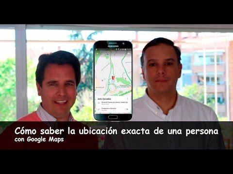Novedad: Cómo conocer la ubicación exacta de una persona con el móvil - Google Maps