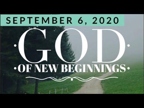 """""""God of New Beginnings"""""""