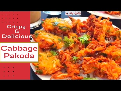 Cabbage Pakoda Cabbage Vada Recipe Healthy Snacks Recipes Youtube