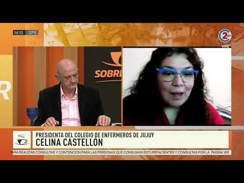 Sobremesa 23-09-20| Celina Castellón - Presidenta del Colegio de Enfermeros de Jujuy