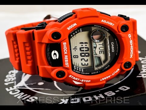casio-gshock-g7900a-4-review-|-how-to-set-time-|-light-display