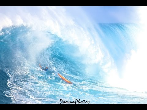 Amazing Wipeouts @ Jaws Peahi Maui