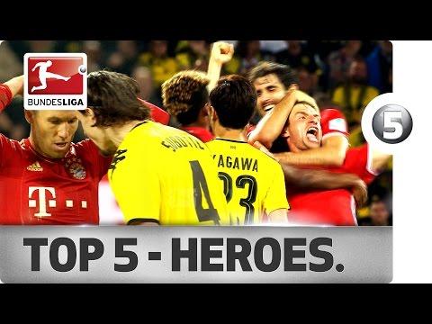 Top 5 Der Klassiker Heroes - Müller, Lewandowski, Götze & Co.