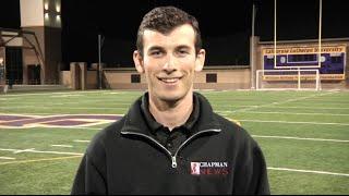 D3 Report: #25 Chapman rolls through Cal Lutheran 45-21