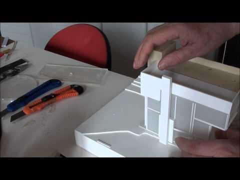 SMITH HOUSE by Richard Meier, scale 1:100 -  work in progress