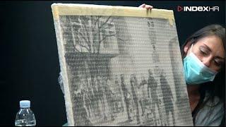 Navijač Je Naslikao Boyse S Inkubatorima Prema Indexovoj Fotki Godine. Slika Ide Na Zid U Petrovu