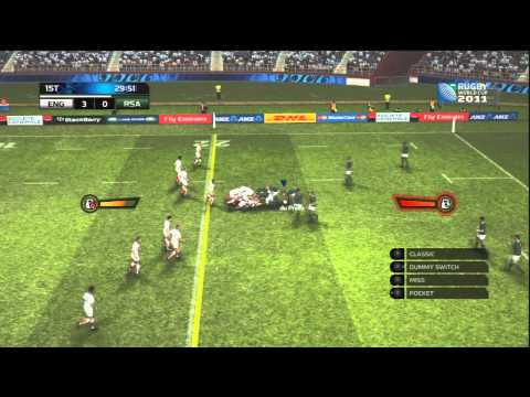Rugby World Cup 2011 | PS3 Gameplay HD