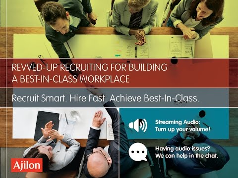 Webinar: Revved-Up Recruiting for Building a Best-In-Class Workplace
