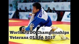 """World JUDO Championships Veterans OLBIA 2017(Koji """"komlock""""KOMURO)"""