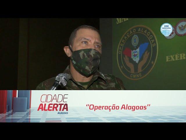 Comando Militar do Nordeste realizará em Maceió a ''Operação Alagoas''