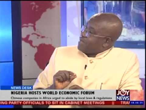 Is Nigeria safe to host world economic forum
