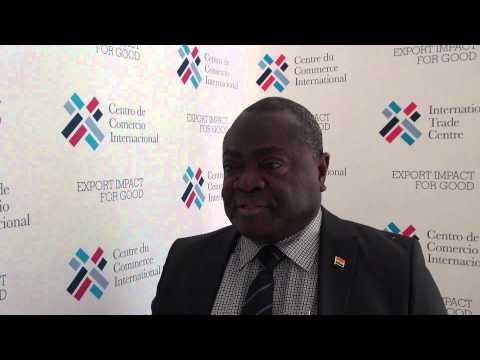 Nii Ansah-Adjaye, Director of Ghana's Ministry of Trade and Industry -- ITC