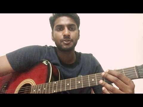 Nenjukkul peidhidum Guitar cover| ft. Vikram naidu