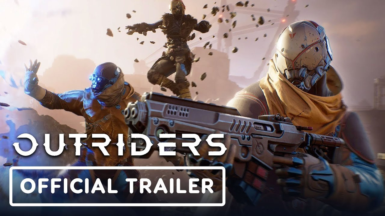 Outriders - Bande-annonce officielle du gameplay (4K) + vidéo