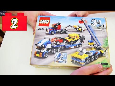 Lego Classic 2 : Автовоз из набора 3 в 1 Lego Creator 31033 для детей 7-12 лет