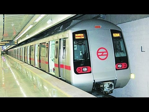 Delhi metro map explained