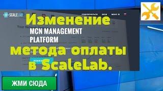 Изменение метода оплаты в ScaleLab. Платежи WebMoney больше не доступны. ePayments, QIWI Wallet.
