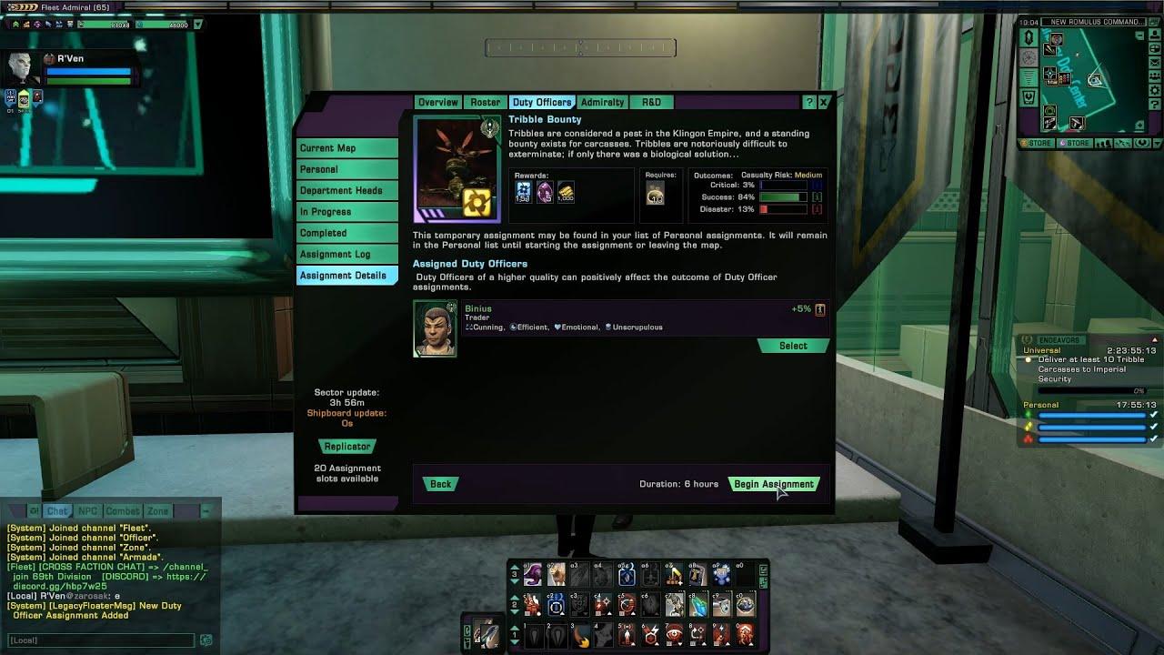 Download Star Trek Online Universal Endeavour: Deliver 10 Tribble Carcasses/Prisoners