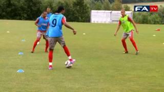 England Under 19's Training Session