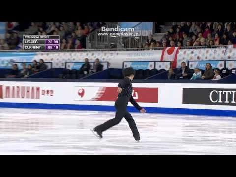 Shoma UNO Jr Grand prix Final 2014 FS