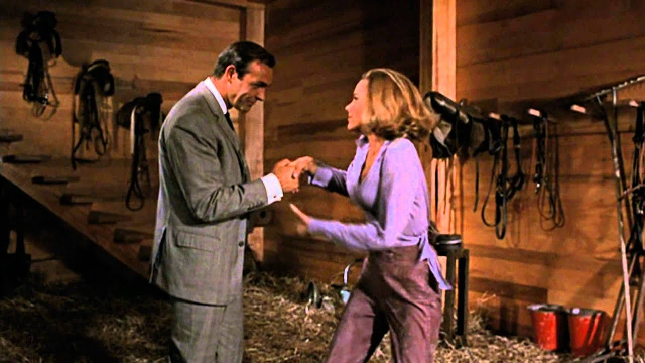 Goldfinger james bond pussy galore barn scene hd youtube ccuart Choice Image