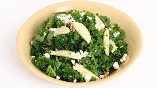 Kale Apple & Walnut Salad Recipe - Laura Vitale - Laura in the Kitchen Episode 830