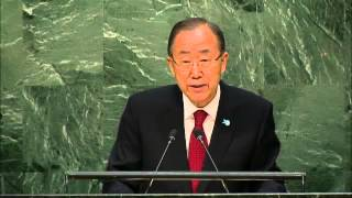 Ban Ki-moon (UN Secretary-General), General Debate, 70th Session