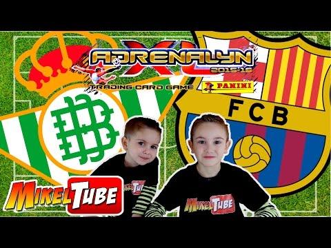 Predicción Adrenalyn XL BETIS VS. BARÇA en Mikel Tube