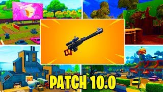 NEW PATCH UPDATE 10.00 FORTNITE LIVE ITA NEW AUTOMATIC PRECISIONE FUCILE