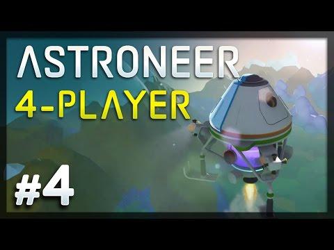 Get Astroneer - #4 - Blast Off! (4-Player Astroneer Gameplay) Screenshots