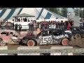 Mitchell Fair Derby - 8 cyl Demolition Derby Heat One