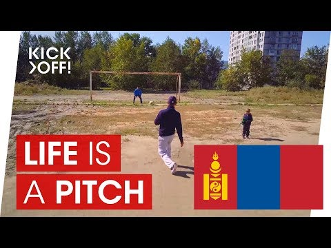 Football Pitch in Ulaanbaatar / Mongolia | Life is a pitch