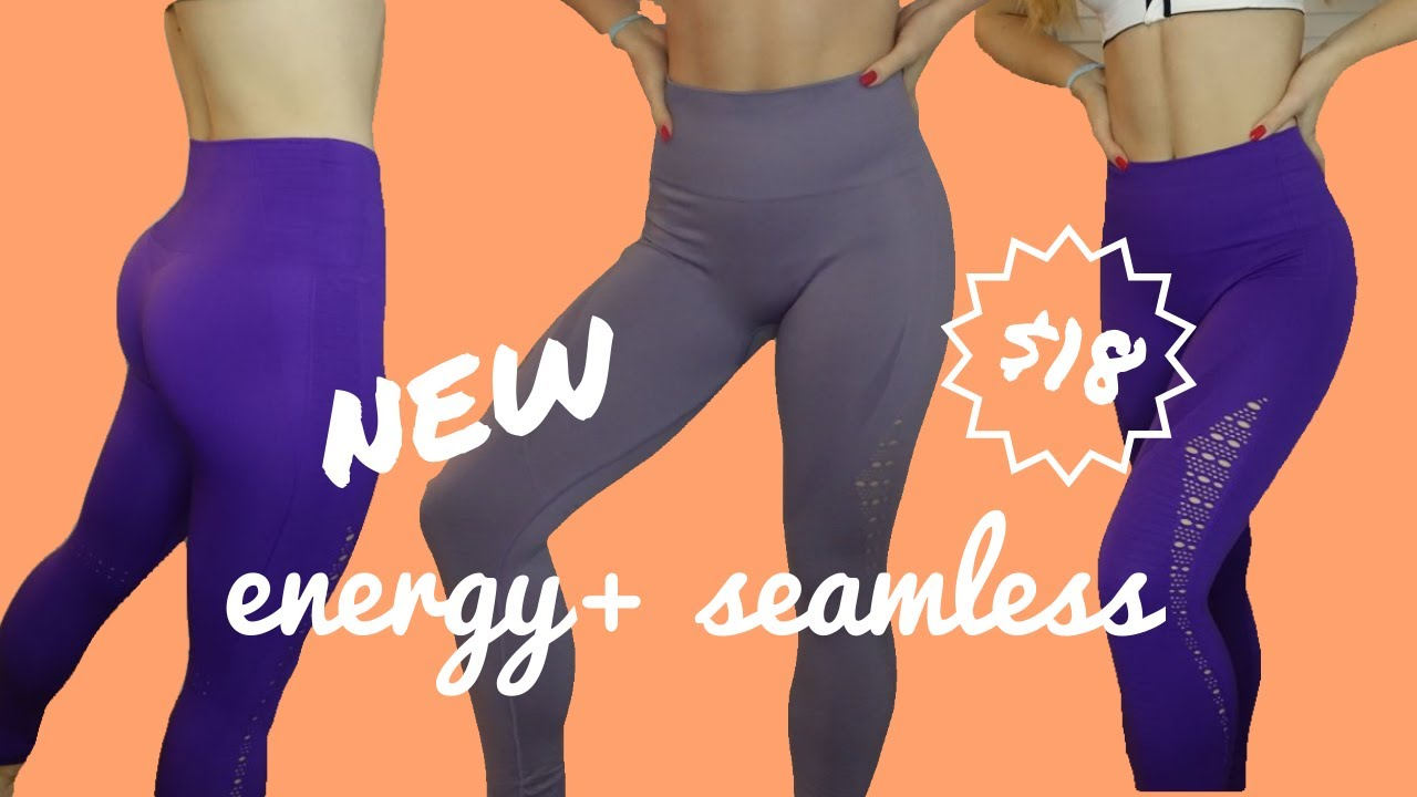 88d0ad8ae7b71f $18 Exact NEW Gymshark Energy Seamless Dupe on Aliexpress - YouTube