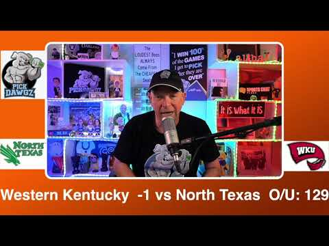 Western Kentucky vs North Texas 3/13/21 Free College Basketball Pick and Prediction CBB Betting Tips