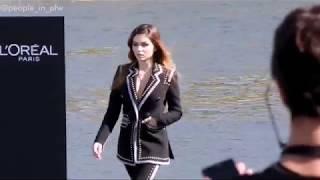 Thylane Blondeau - L'Oréal Paris fashion show on the Seine river - 30.09.2018