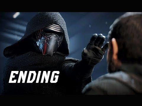 STAR WARS BATTLEFRONT 2 Walkthrough Part 11 - KYLO REN + ENDING (PC Let's Play Commentary)