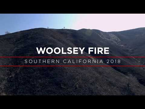 Woolsey Fire - Southern California 2018