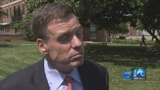Sen. Warner on progress at Hampton VA