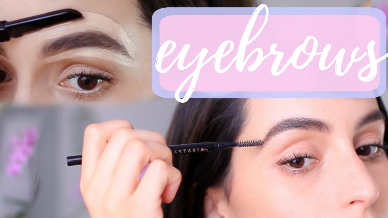 How To Shape Your Eyebrows At Home Brows For Beginners Youtube