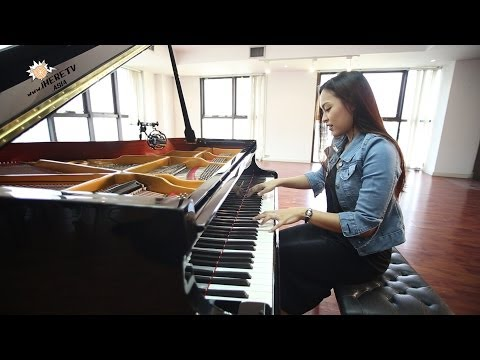 ขอใจเธอแลกเบอร์โทร หญิงลี Cover piano version by เปรียว