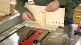 Table Saw Dovetail Jig Build 2/2