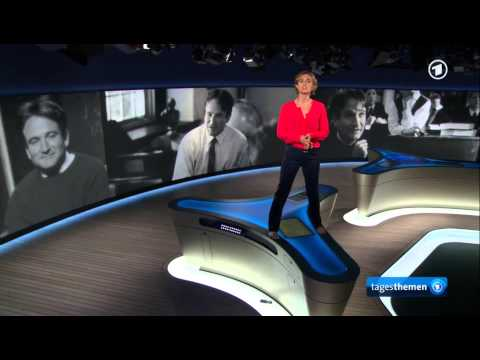 """German news anchor reporting the death of Robin Williams - """"Dead Poets Society""""-style"""