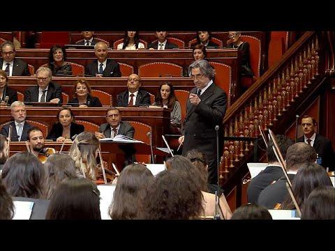 Concerto de Natal no Senado italiano