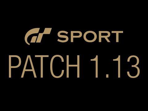 Update 1.13 - GT Sport