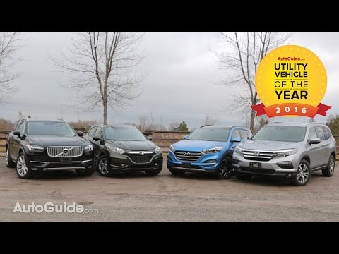 Winner - 2016 AutoGuide.com Utility Vehicle of the Year