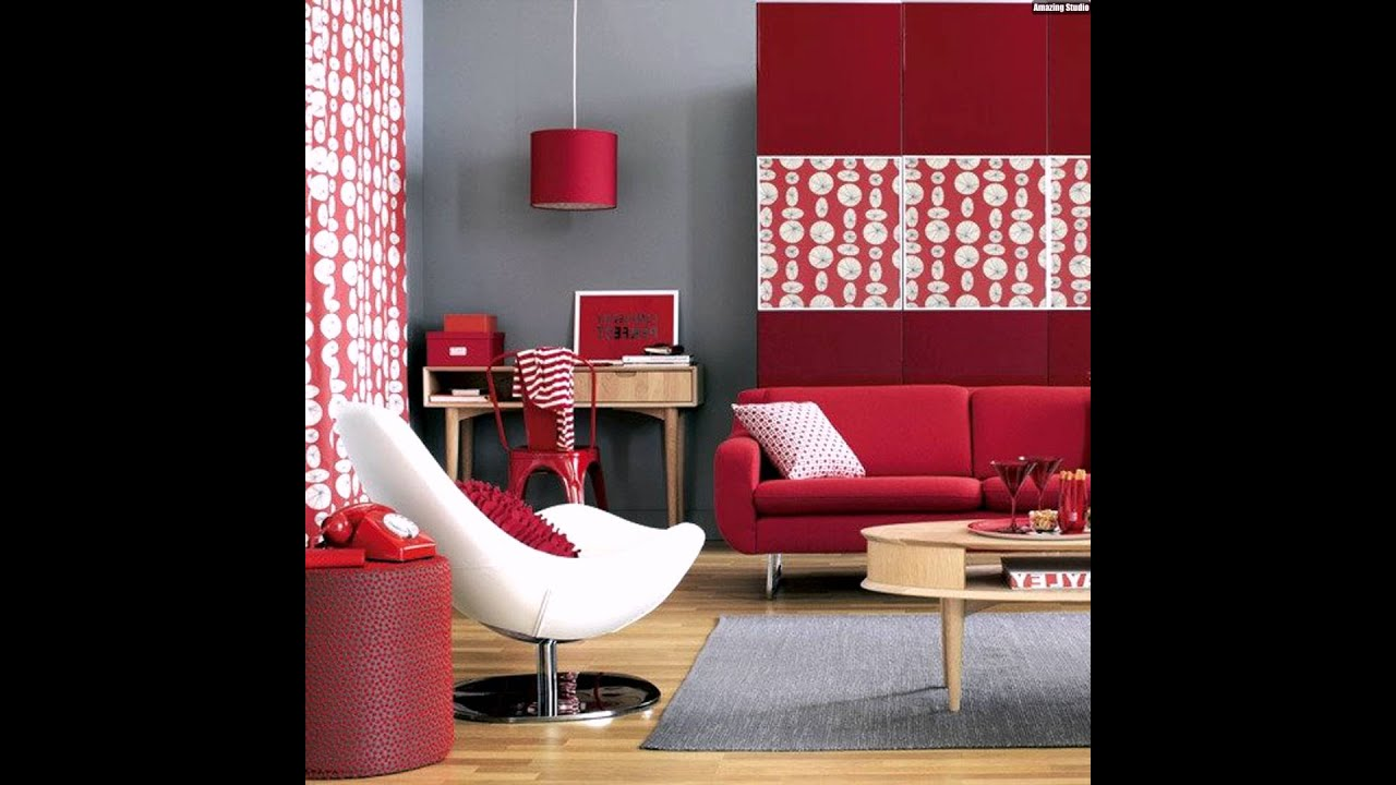 farben test farbtyp rot wohnzimmer grau kombination youtube. Black Bedroom Furniture Sets. Home Design Ideas