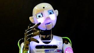 Робототехника. Современные Роботы. Робот Андроид Теспиан. Роботы видео
