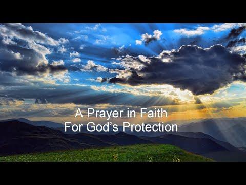 APrayer in Faith For God's Protection