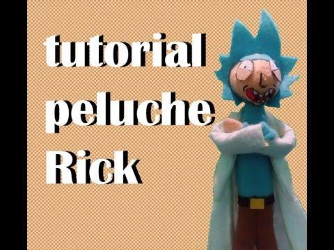 Peluche de Rick Sanchez
